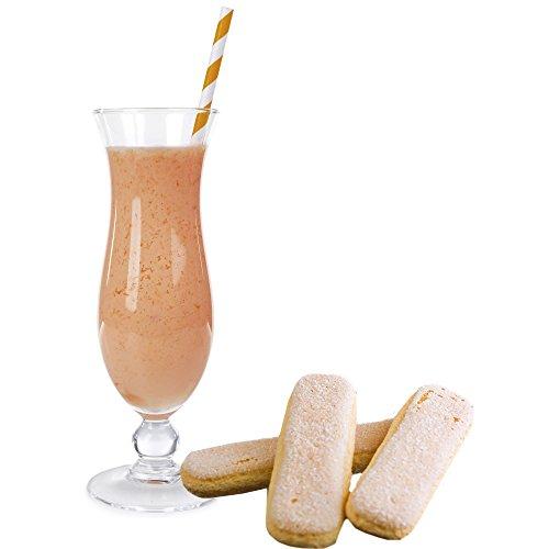 Biscuit Molkepulver Luxofit mit L-Carnitin Protein angereichert Wellnessdrink Aspartamfrei Molke (Biscuit, 333 g)