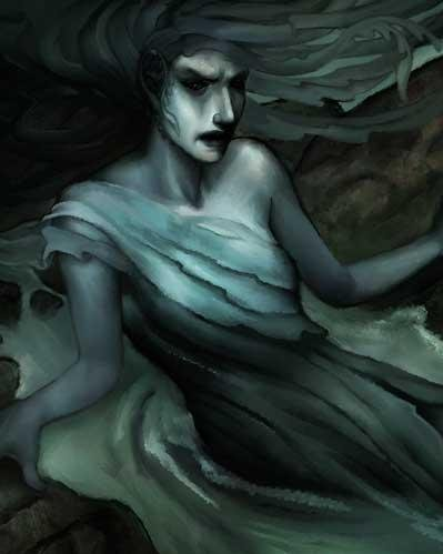 Descent Road to Legend Miniatures: Siren by Board Games
