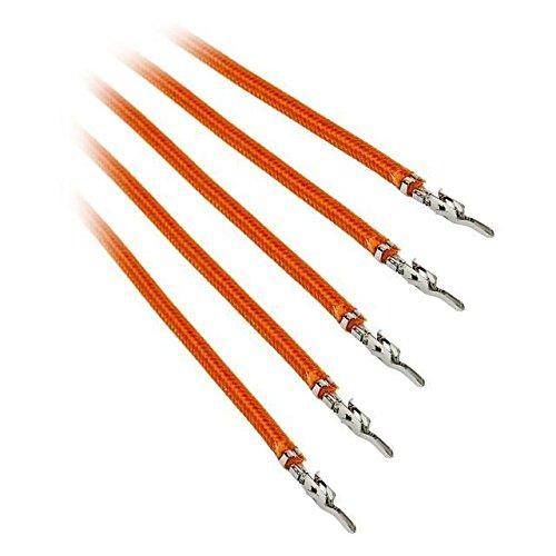 BitFenix BFX-ALC-20CMLO-RP Alchemy 2.0 PSU Cable, 5X 20cm, Orange