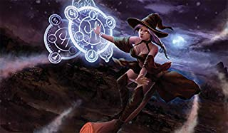 Witch Lilibeth, Flight Over Gressit - TCG Playmat and Mouse Pad (FN3P)