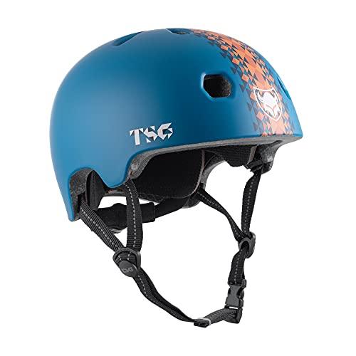 TSG Meta Graphic Design Helm Kinder grau 2021 Fahrradhelm