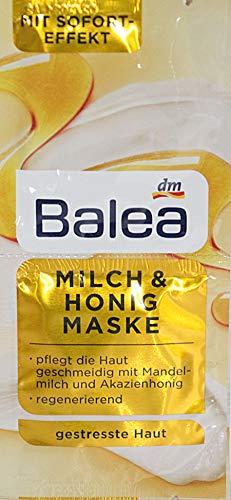 Balea Milch & Honig Maske 10er Packung für 20 Anwendungen