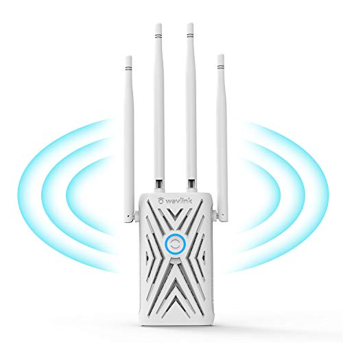AC1200 WiFi Range Extenders,WAVLINK Signal Booster 1200Mbps 2.4+5Ghz Dual Band Wi-Fi Amplifier Repeater/Wireless Router/Access Point AP 3 in 1, Wall Plug Design for Convenient Placement