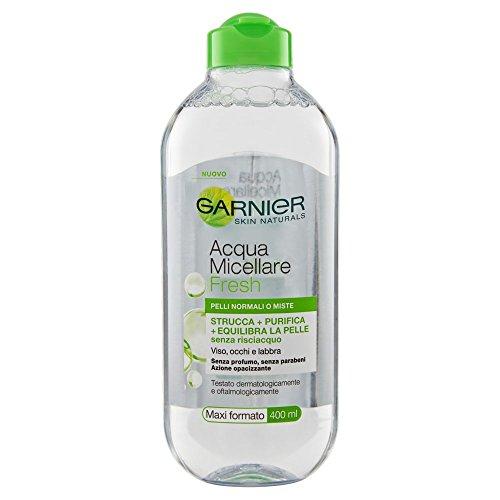 Agua micelar para la limpieza diaria, 400ml, Garnier Fresh