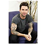 ZOEOPR Leinwand Poster Adam Levine Poster Star Poster