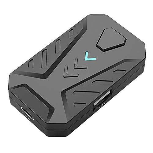 Adanse Gaming Mix Teclado Mouse Convertidor Adaptador Dock para Android iOS Tel/éFono una PC Consola Remota PUBG BattleDock