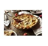 Gourmet Food Gifts! - Northwest Wild Foods Strawberry Rhubarb Pie, Fresh Frozen in Reusable 9-Inch Deep Dish Pie Pan