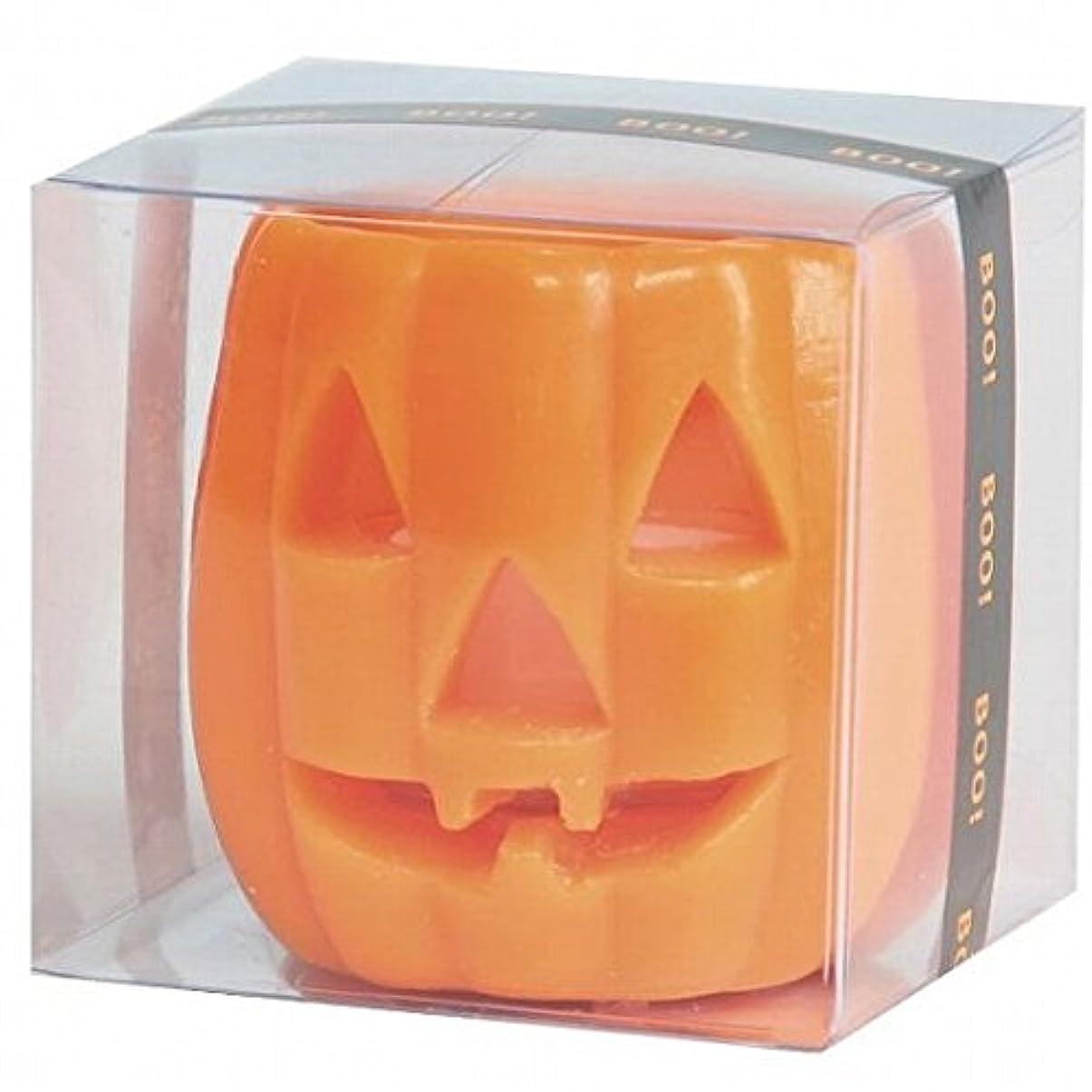 脱臼する閃光オンスkameyama candle(カメヤマキャンドル) パンプキンフェイスS 「 オレンジ 」 キャンドル(55860000)