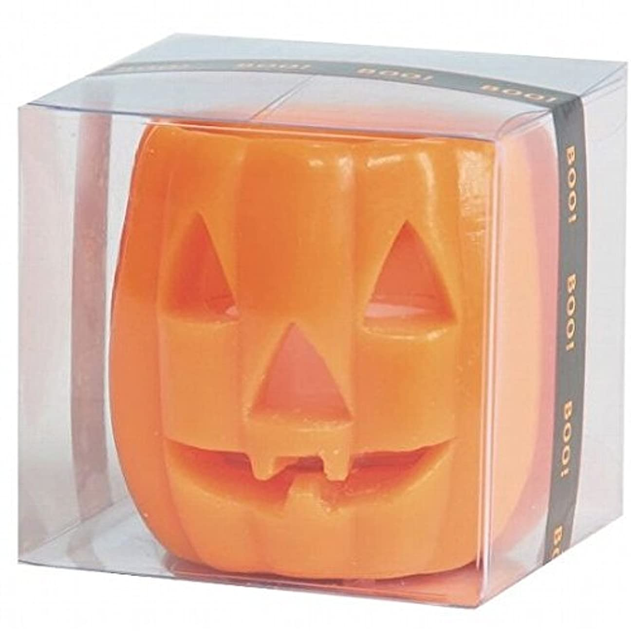 個人的に運搬牧草地kameyama candle(カメヤマキャンドル) パンプキンフェイスS 「 オレンジ 」 キャンドル(55860000)