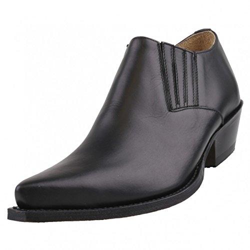 Sendra Herren Halbschuhe 4133 Schwarz, Schuhgröße:EUR 45