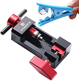 Dymoece Upgraded Needle Driver Insertion Tool,Bicycle Hydraulic Hose Fitting Insert Tool with Hydraulic Hose Cutter NDIT08