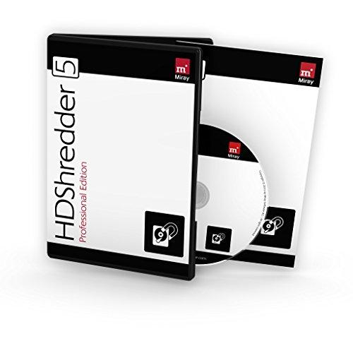 HDShredder 5 Professional Edition (Box, deutsch) - Sichere Datenlöschung für Festplatten und andere Speichermedien