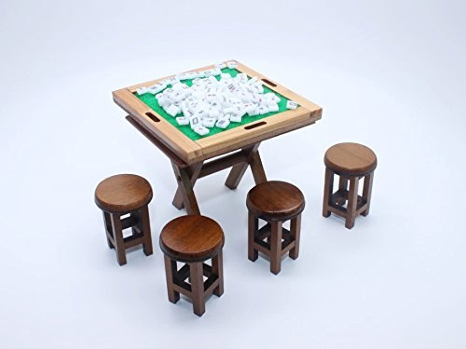 Vintage Mahjong Set Dollhouse Miniature Full set