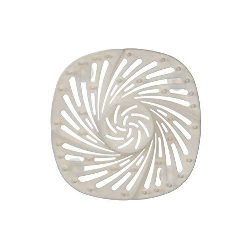 Xingying Tapón para tina de 14,5 cm de silicona grande tapón de drenaje con ventosa plana para cocina, baño, lavandería, antibloqueo y desagüe para fregadero