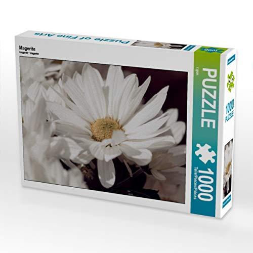 CALVENDO Puzzle Magerite 1000 Teile Lege-Größe 64 x 48 cm Foto-Puzzle Bild von ralf Guenther