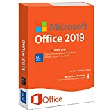 Key Compatible with Microsoft Office 2019 Professional Plus 32/64 bit Windows 1 User/1 PC Instant