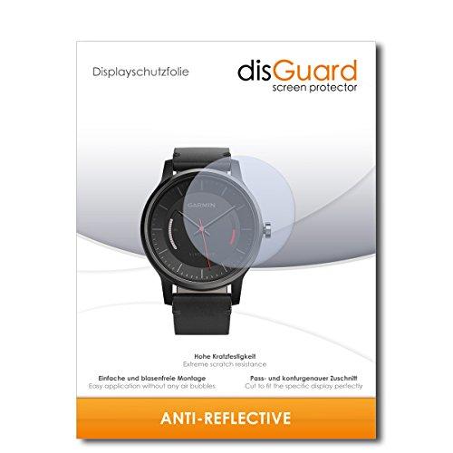 disGuard Bildschirmschutzfolie für Garmin vivomove [4 Stück] Anti-Reflex, MATT, Entspiegelnd, Extrem Kratzfest, Anti-Fingerabdruck - Bildschirmschutz, Schutzfolie, Panzerfolie