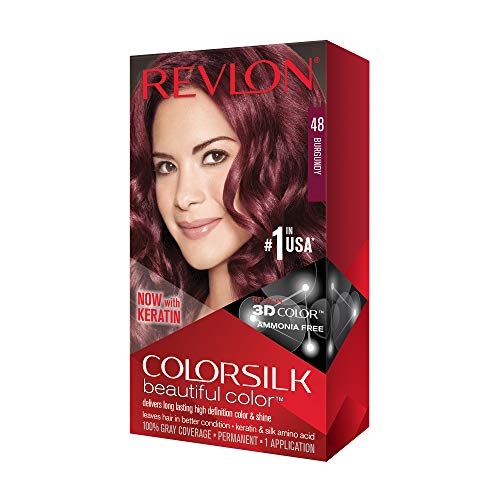 Revlon Colorsilk Tinte,48-Borgoña - 60 Ml