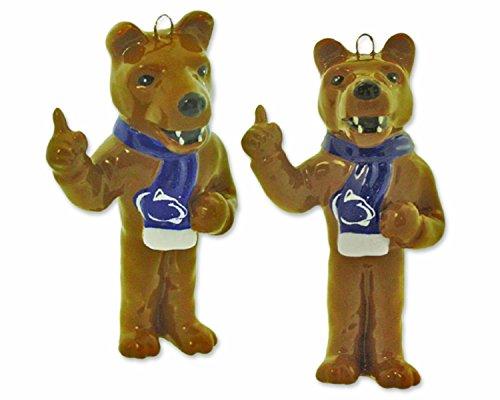 NCAA Penn State Nittany Lions 2-Piece Porcelain Figure Ornament Set