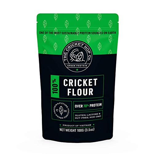 100% Cricket Flour, 74% Protein, by The CricketHop Co.