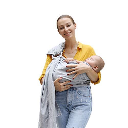 Bébé Wrap Newborn Slings Carriers 80% Ligne Tissu Respirant Bébé Anneau Sling Carrier Doux Baby Wrap Pour Les Nouveau-Nés Meilleur Douche Cadeau