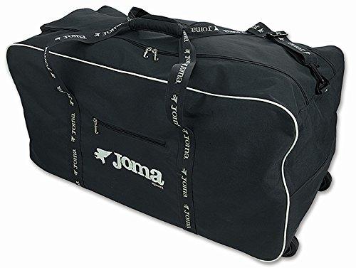 Joma Bolsa UTILLERO Ruedas Team Travel, Unisex Adulto, Negro-100, S