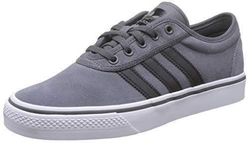adidas Unisex-Erwachsene Adi-Ease Skateboardschuhe, Grau (Grey Five/Core Black/FTWR White Grey Five/Core Black/FTWR White), 45 1/3 EU