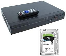 16 Channel XVR 4K 4MB IP DVR CVI TVI AHD Recorder CCTV 2TB OEM Dahua