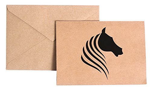 VinMea Paard briefpapier Note Card Set