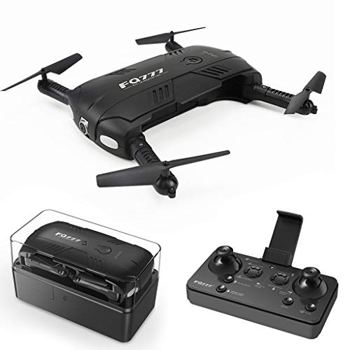 IIIL Drone Mini Folding 2 Million HD Camera, Pocket WiFi FPV Fixed Height Remote Control Aircraft Remote Control Airplane Best Toy