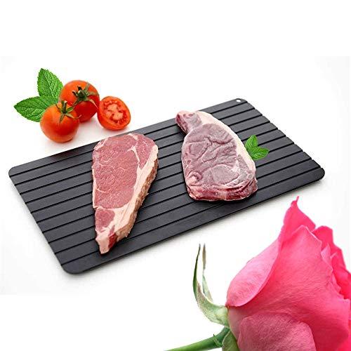 Magic Quick Thaw Schneidebrett Steak Fleisch Meeresfrüchte Auftauteller Fast Abtauplatte Brett LY008-35.5X20.5X0.3CM