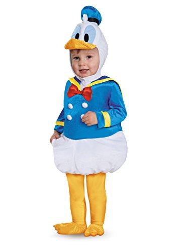 Disney Disguise Baby Boys' Donald Duck Prestige Infant Costume, Blue, 6-12 Months