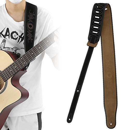 Accesorios de guitarra de piel de vaca real mate para guitarras eléctricas...