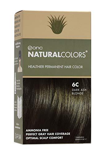 ONC NATURALCOLORS Healthier Tinte de cabello permanente con calidad de salón de belleza, sin amoniaco ni resorcinol, sin parabenos, bajo pH, mejor coloración del cabello