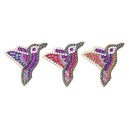 ANTKING DIY broche de diamante 5D mosaico perforación pintura kit resina pin hebilla regalo mujeres niña joyería