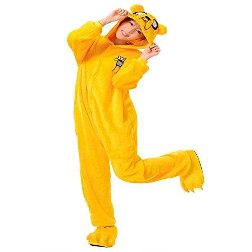 Chien Jack S Kigurumi Pyjama Chien Jack Genouillère Combinaison Déguisement Adulte Ado - Bonne Qualité - Unisexe en Peluche Très Doux Très Confortable (S : 150-155cm)