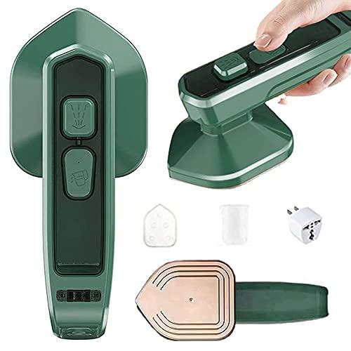 Micro plancha de vapor profesional Mini vaporizador de ropa de mano portátil, compatible con planchado en seco y en húmedo, adecuado para el hogar y los viajes (Enchufe US 110v)