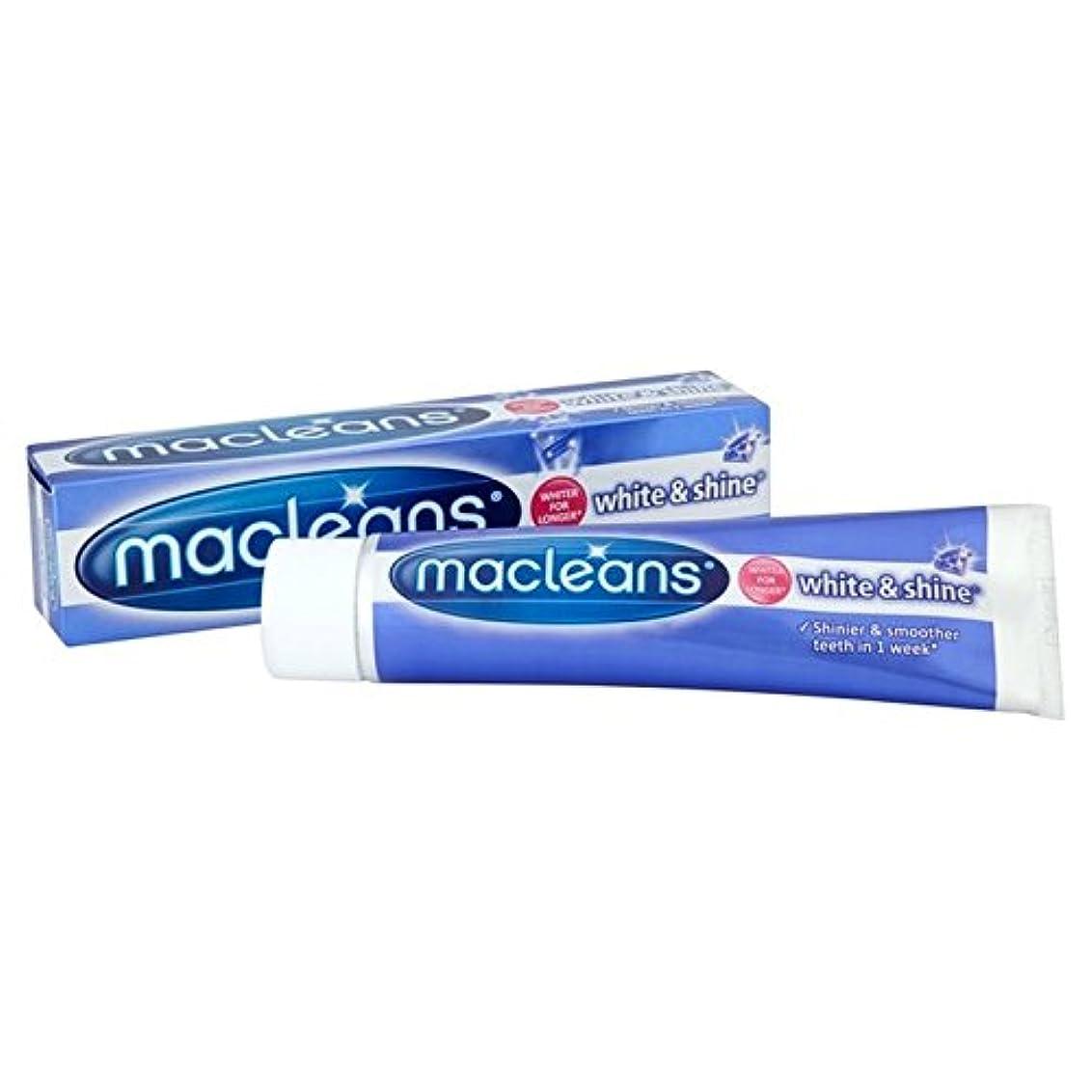 船形コーン等価''歯磨き粉の100ミリリットル x2 - Macleans White'n'shine Toothpaste 100ml (Pack of 2) [並行輸入品]