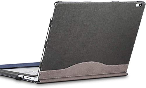Calfinder Surface Book 3 Hülle Hülle, Surface Book 2 13.5 Zoll Cover, Surface Book 3 13.5 Schutzhuelle Tasche, Gray