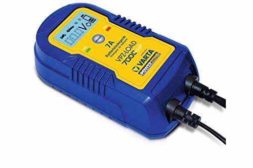 Varta VPZ 7000 Plus Acculader, 12 V, 7 A, 24 V, 3,5 A, 9 treden
