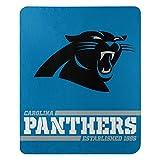 Northwest NFL Carolina Panthers 50x60 Fleece Split Wide DesignBlanket, Team Colors, One Size