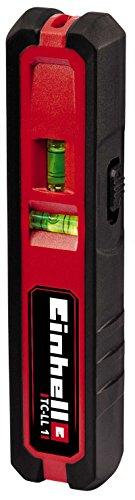 Einhell 2270095 Nivel Laser TC-ll 1 Rango de Trabajo 20 m, 1.5 V, Rojo