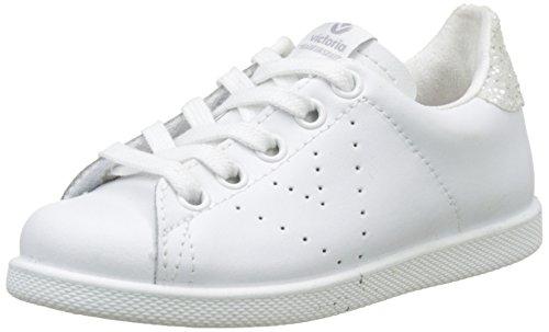 Victoria 1125104, Zapatillas Niñas - Blanco (Blancoo) - 34 EU