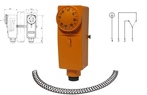 Anlegethermostat Thermostat M-THERM CT-1 20-90°C mit Außenskala