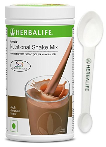 Herbalife Nutrition Formula 1 Shake for Weight Loss, 500 g (Dutch Chocolate)