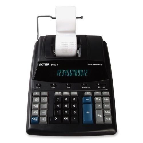 Price comparison product image 1460-4+Extra+Heavy-Duty+Printing+Calculator%2c+Black%2fRed+Print%2c+4.6+Lines%2fSec