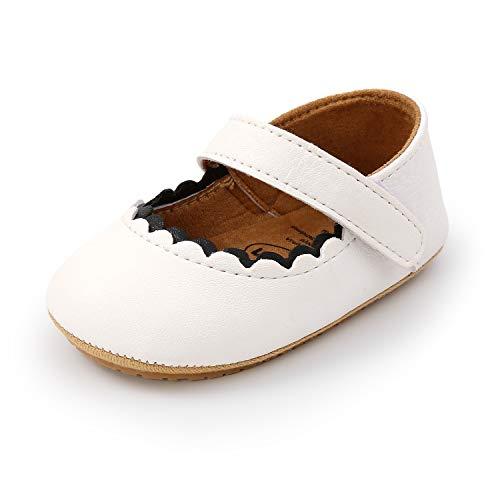 MK MATT KEELY Zapatos Bebé Niña Primeros Pasos Zapatos Princesa Antideslizantes Bailarinas Suela...