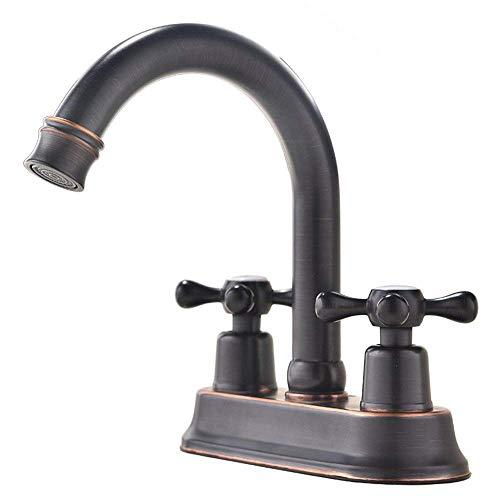 center bronze faucet - 4