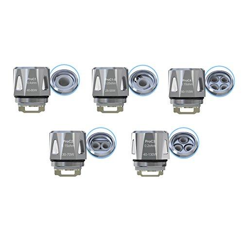 Joyetech ProCore Aries Coils 5er Pack Größe ProC1-S 0,25Ohm