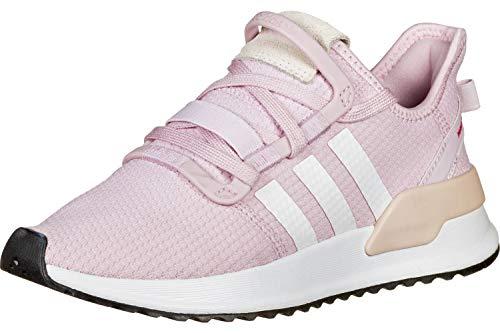 adidas U-Path Run J W Shoes aero, Pink/FTWR White, 39 1/3 EU